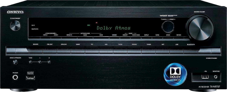 Onkyo TX-NR737 7.2-Ch Network A/V Receiver w/ HDMI 2.0