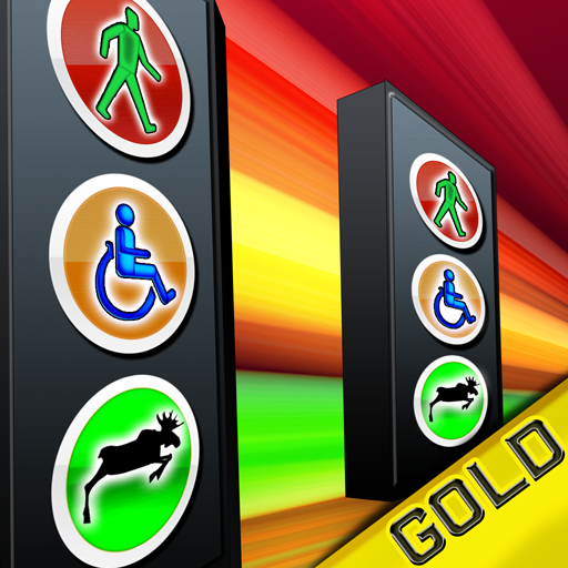 Symbol Signs Runner : Escape the Danger and Run - Gold Edition