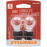 SYLVANIA 3157 Long Life Miniature Bulb, (Contains 2 Bulbs)