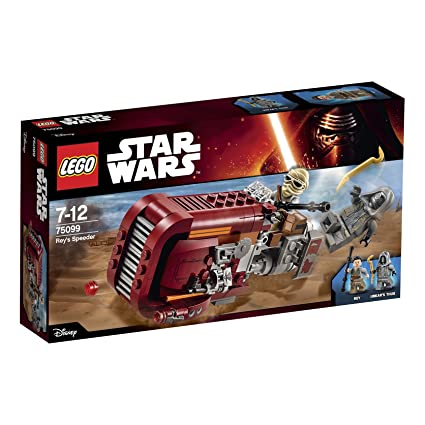 LEGO - 75099 - Star Wars - Jeu de Construction - Rey's Speeder