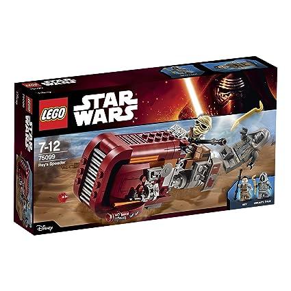 LEGO - 75099 - Star Wars - Jeu de Construction - Rey's Speeder