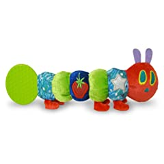 The World of Eric Carle: The Very Hungry Caterpillar Teether Rattle by Kids Preferred