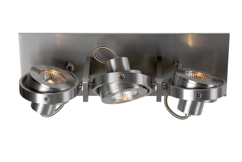 Lucide LANDA II Spot 3x GU 10/35 W inklusive Aluminium 17905/23/12