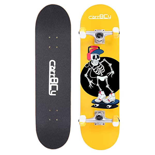 Skateboards carrybc 31 pro complete skateboard 7 layer canadian skateboards carrybc 31 pro complete skateboard 7 layer canadian maple skateboard deck for extreme sports aloadofball Choice Image