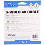 Tomee S-Video AV Cable for Wii U/ Wii