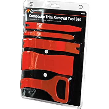 Molding and More Performance Tool W80648 Composite Trim Removal Tool Kits For Fasterners