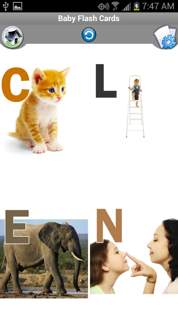 Amazon.com: Baby Flash Cards - Learn colors, alphabet ...