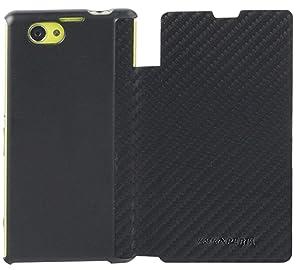 Sony Carcasa tipo Libro para Sony Xperia Z1 Compact Made by Xperia - Negro Carbón - Electrónica - más noticias y comentarios