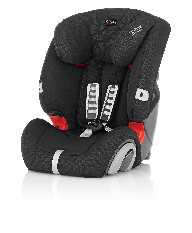 britax evolva group 1 2 3 combination car seat black thunder ebay. Black Bedroom Furniture Sets. Home Design Ideas