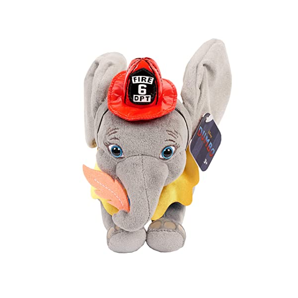 Dumbo Live Action 7 Plush with Fireman Outfit (Tamaño: 7 inches)