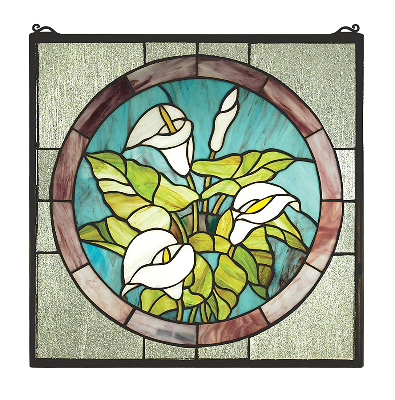 Calla Lily Stained Glass Window 0