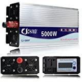Electrical Equipment & Supplies - Power Inverter - 10000W Peak Modified Sine Wave Power Inverter DC 12-48V to AC 220V Converter + LCD - (Voltage: 24V) (Tamaño: 24V)