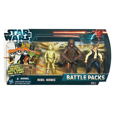 Star Wars - 37823 - Figurine - Star Wars Battle Pack - Rebel Héros