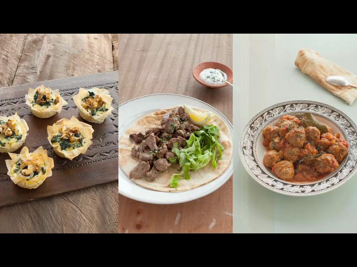 The Lebanese Kitchen: Salma Hage, Toby Glanville