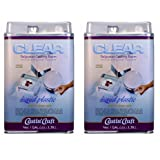 Environmental Technology 128-Ounce with 1/2-Ounce Catalyst Casting' Craft Polyester Casting Resin, Clear (?w? ???k) (Tamaño: ?w? ???k)