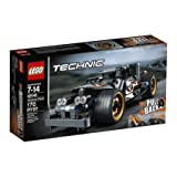 LEGO Technic Getaway Racer 42046 Building Kit (Color: White, Tamaño: One Size)