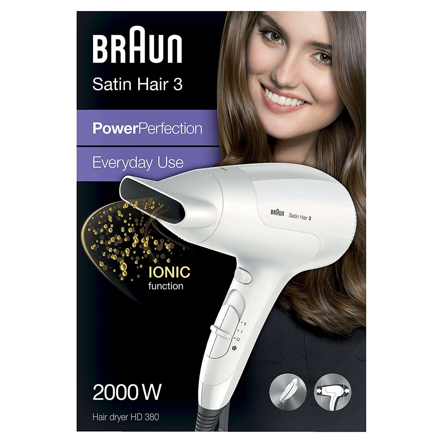 Satin-Hair 3 PowerPerfection HD380 dryer