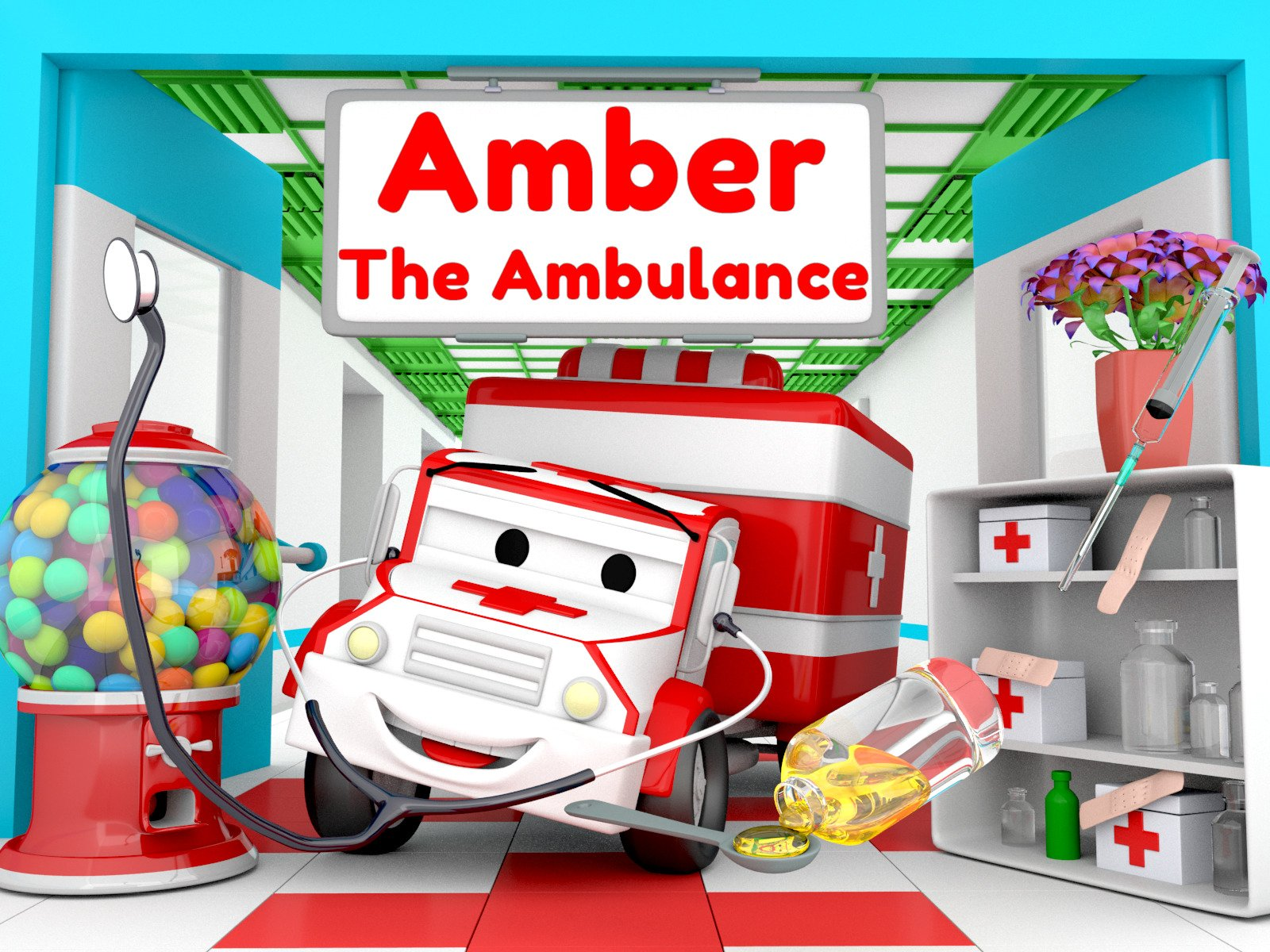 Amber the Ambulance on Amazon Prime Instant Video UK