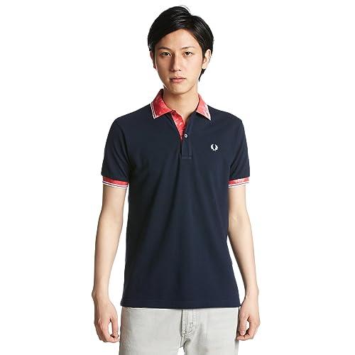 (フレッドペリー)FRED PERRY ムラ染めリブポロシャツ F1294