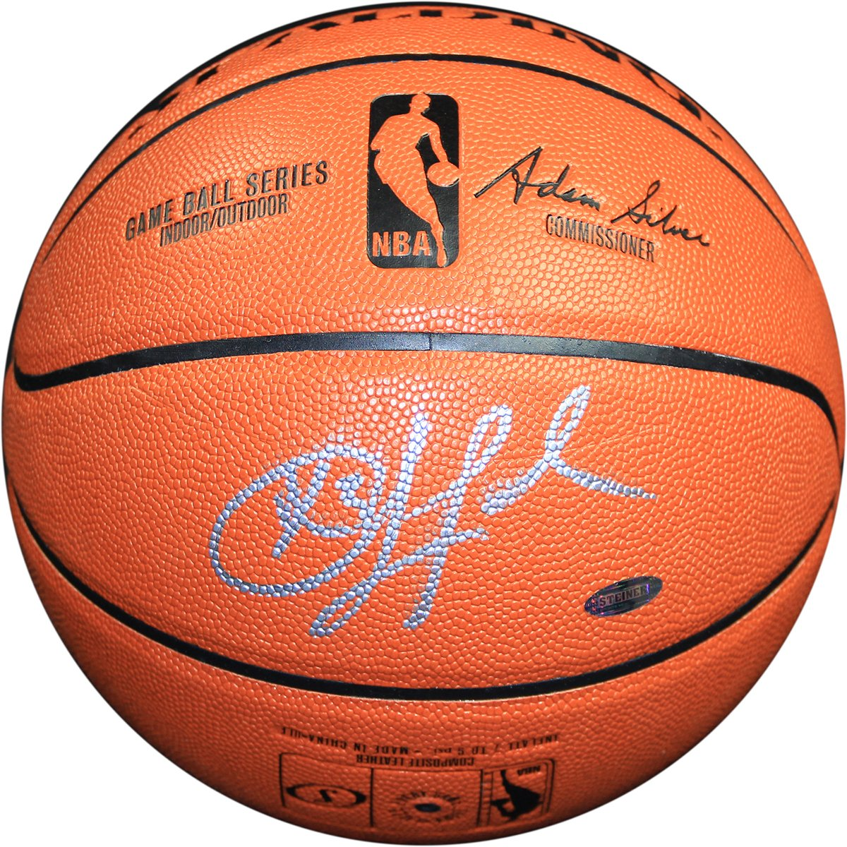 Chris Paul Signed I/O Basketball (Signed in Silver) motorcycle cnc steering damper stabilizer