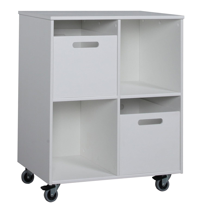 Kinder Bücherregal Regal Set Mobilregal Aufbewahrungsbox Tafel MINI weiß jetzt kaufen