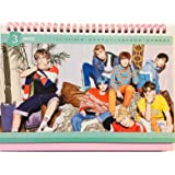 BTS KPOP Bangtan Boys Group Individual Member New Calendar 2018-2019 V SUGA JUNG KOOK J-HOPE JIMIN RAP MONSTER JIN (BTS Group)