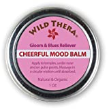 Natural Depression Relief. Joy. Mood Uplift Herbal Balm. Use with Depression Pills, Anti-Anxiety Pills, Depression Supplement, Aromatherapy, Depression Light Lamp and other Natural Antidepressants. (Tamaño: 1 oz)