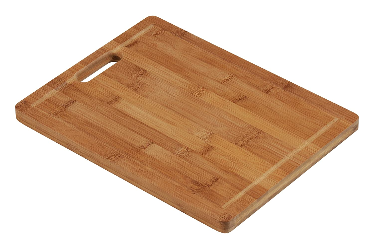 Premier Housewares Chopping Board with Handle - Bamboo - 34 x 26 cm