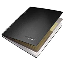 Cambridge Limited Notebook Hardcover black 8.5 x 11 Inches (06100)