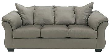 Darcy Cobblestone Full Sofa Sleeper