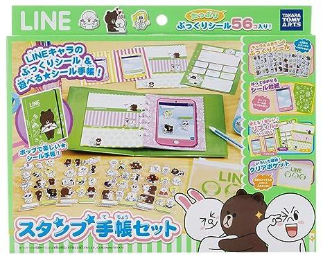 LINE CHARACTER notebook stamp set (japan import)