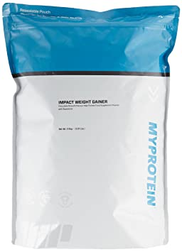 Myprotein Impact Weight Gainer Chocolate Smooth, 1er Pack (1 x 2.5 kg)