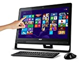 Acer Aspire AZ3-605-UR23 23-Inch All-in-One Touchscreen Desktop (Black)