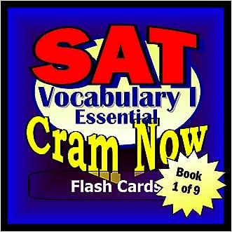 SAT Prep Test VOCABULARY ESSENTIALS Flash Cards--CRAM NOW!--SAT Exam Review Book & Study Guide (SAT Cram Now! 1)
