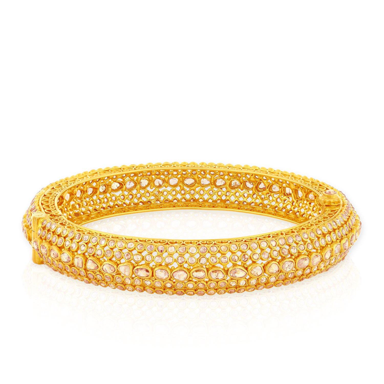 Malabar Gold and Diamonds Era 22k (916) Yellow Gold Bangle
