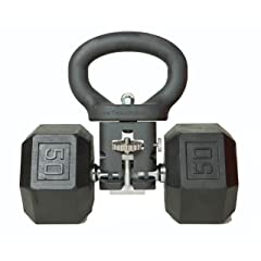 The KettleClamp, Adjustable Kettlebell