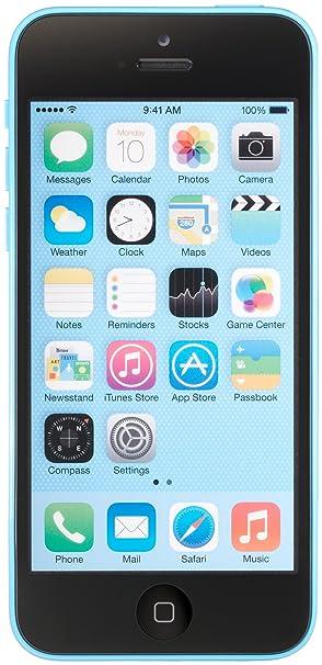 Apple iPhone 5c, Blue 16GB (Unlocked)
