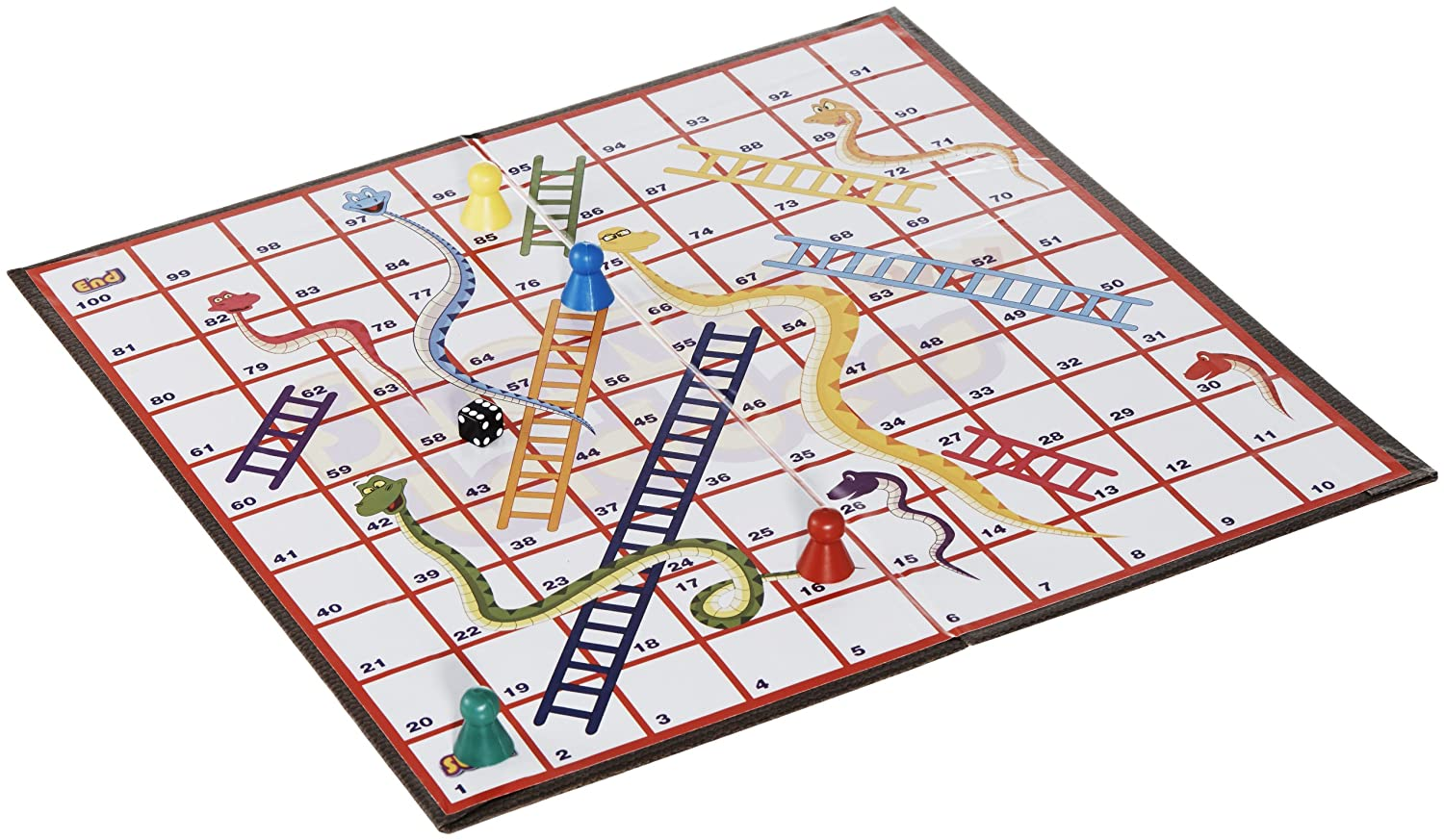 Funskool Snakes And Ladders, Multi Color