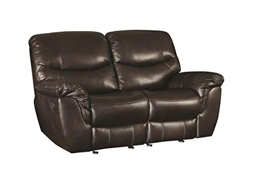 Partridge Casual Reclining Love Seat with Pillow Top Arms