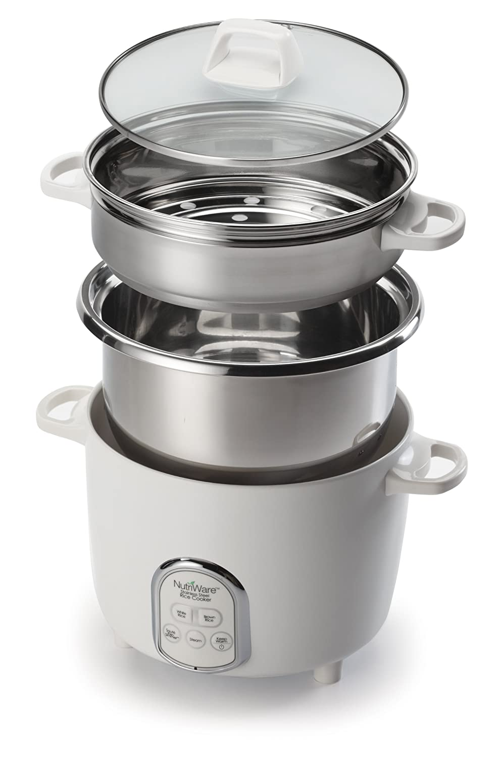 Aroma NutriWare 20-Cup (Cooked) Digital Rice Cooker and