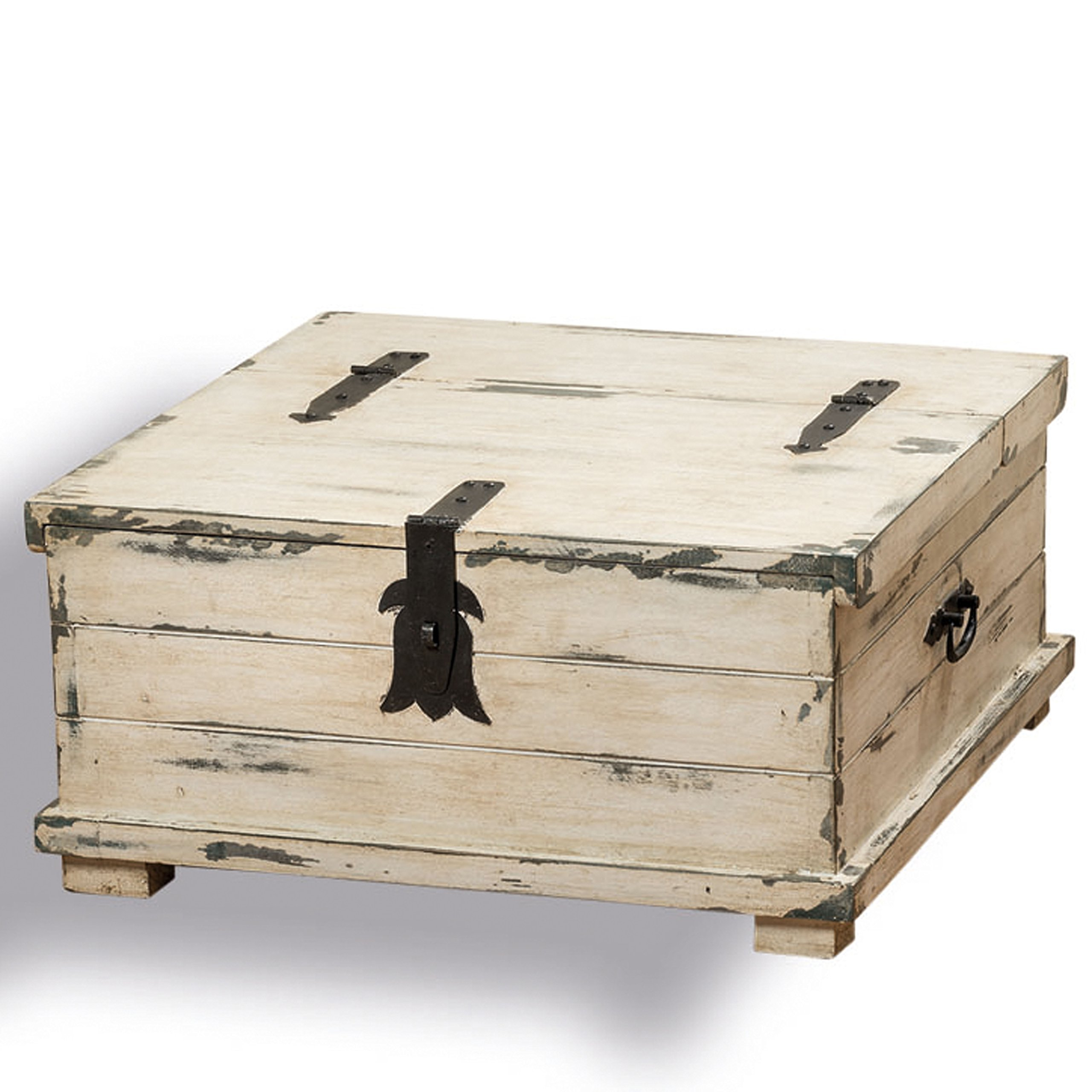 The Cape Cod Steamer Trunk Coffee Table And Storage Box