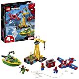 LEGO Marvel Spider Man Spider-Man: Doc Ock Diamond Heist 76134 Building Kit (150 Piece) (Color: Multi)