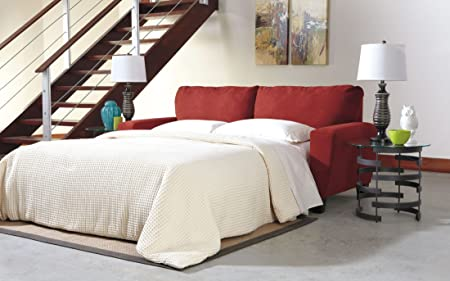 Ashley Sagen 9390339 Queen Sofa Sleeper with Easy to Lift Mechanism Innerspring Mattress and Microfiber Upholstery in