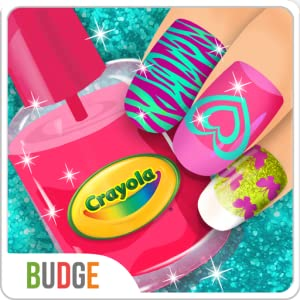 Crayola Nail Party - A Nail Salon Experience by Budge Studios