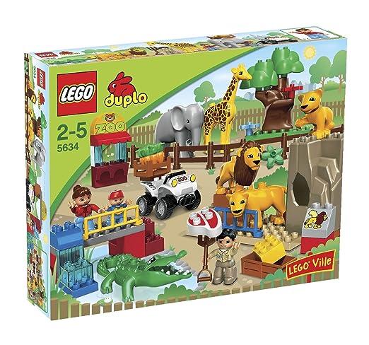 LEGO - 5634 - Jeu de construction - DUPLO LEGOville - Le repas des animaux du zoo
