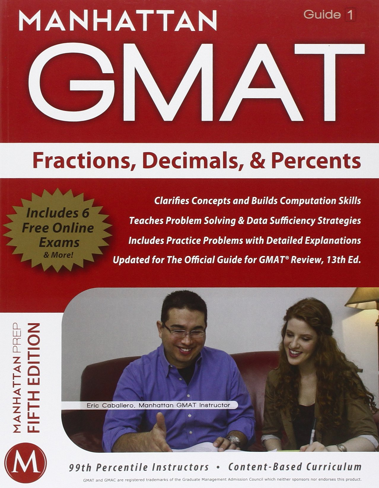 Manhattan gmat fractions decimals percents strategy guide