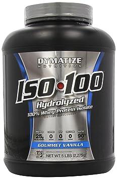 Dymatize ISO 100, Vanilla, 1er Pack (1 x 2.275 kg)