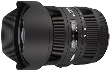 Sigma Objectif 12-24 mm F4,5-5,6 II DG HSM - Monture Canon