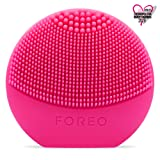 FOREO LUNA play – All the Power of T-SONIC Cleansing in 1 Small Device, Fuchsia