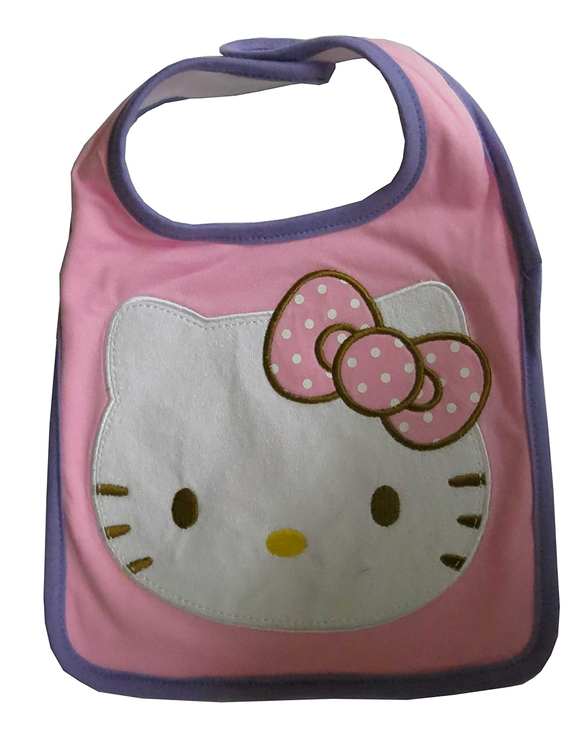 sanrio hello kitty baby bib everything kitty. Black Bedroom Furniture Sets. Home Design Ideas